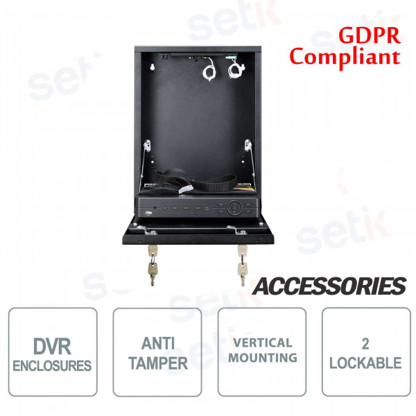 Pulsar Tamper metal box DVR box - Mini Vertical
