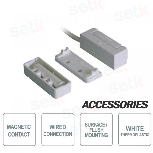 Contatto Magnetico da Incasso o a Vista in Termoplastico  - CSA