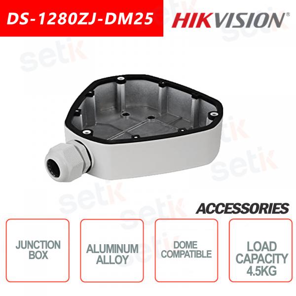 Box di giunzione Hikvision in lega di alluminio per telecamere dome Carica massima 4.5KG