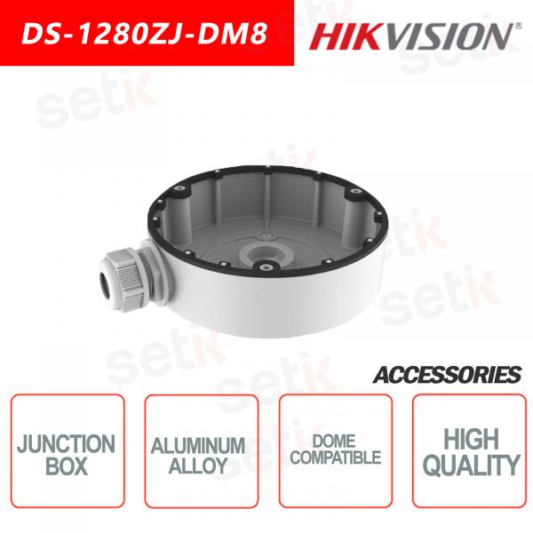 Hikvision Box di giunzione in lega di alluminio per telecamere dome