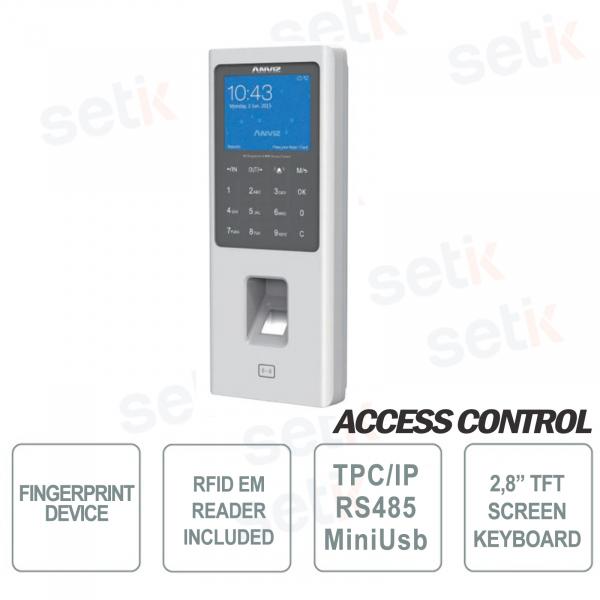 Anviz W2 Biometric Standalone Fingerprint Reader