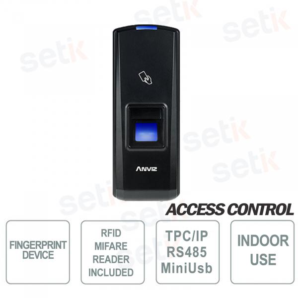Lettore Biometrico Standalone d'impronte digitali e RFID Anviz