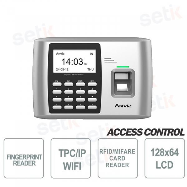 Terminale Controllo Accessi e presenze RFID EM A300 ID WIFI