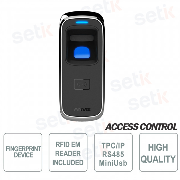 Biometric Standalone fingerprint reader and RFID EM 125KHz
