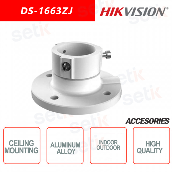 Aluminum alloy bracket for ceiling mounting - indoor and outdoor - HIKVISION