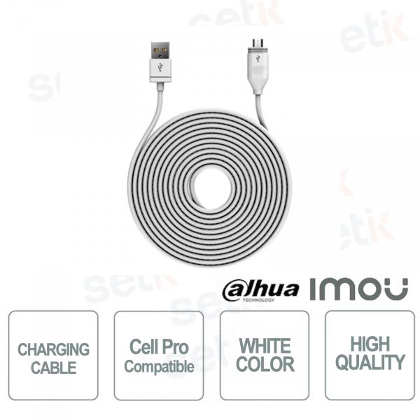 Cell Pro Imou charging cable for CellPro WiFi cam