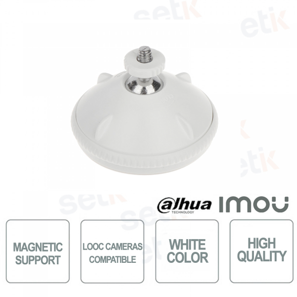Magnetic support for LOOC Imou camera installa