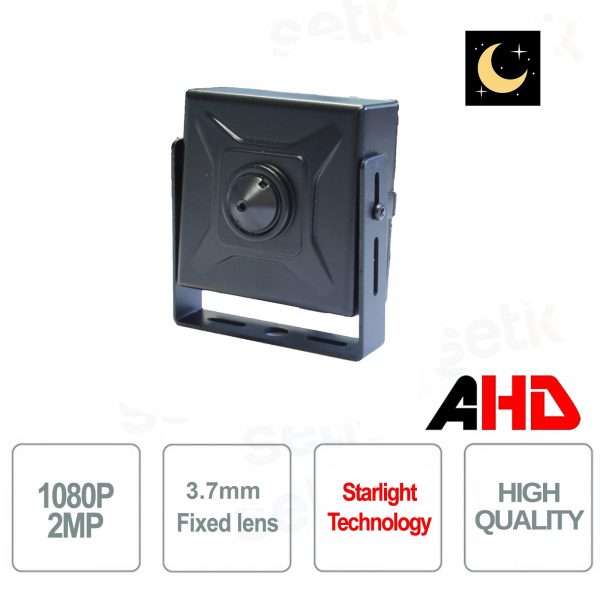 AHD 1080P Starlight 3.7mm Pinhole Hidden Camera - Setik