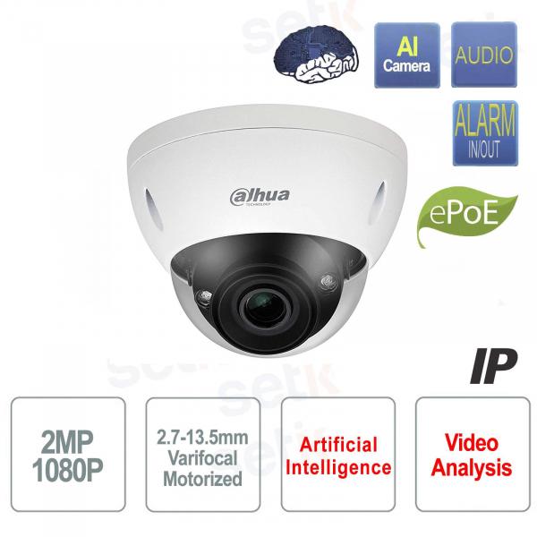 AI IP camera ONVIF PoE 2MP 40M IR Motorized WDR Starlight Dahua