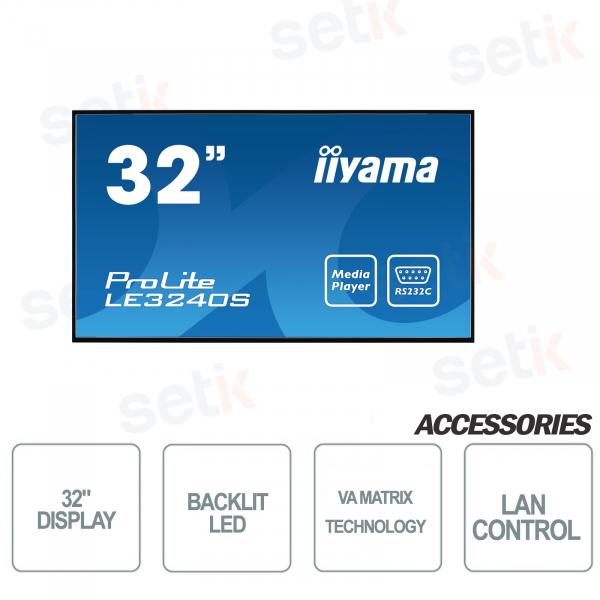 "32 ""LCD Monitor Prolite 1080P FULL-HD Speakers - IIYAMA"