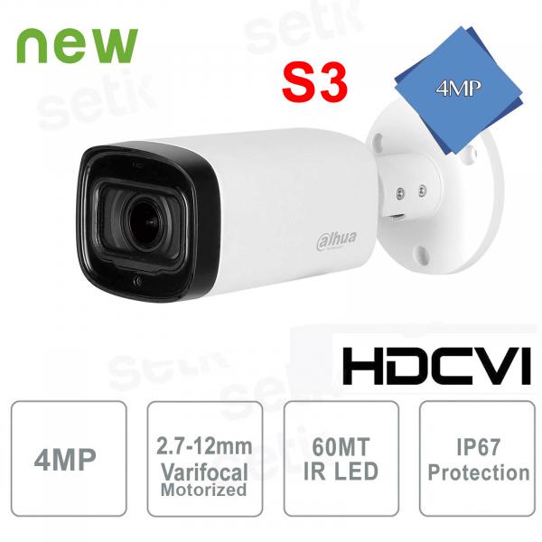Outdoor surveillance camera HD CVI Dahua 4MP IR 60 Motorized S3