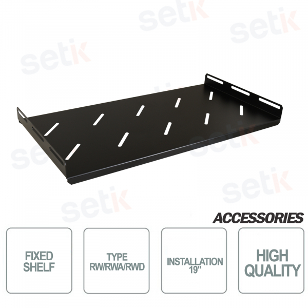 Fixed steel support surface for RACK wardrobe