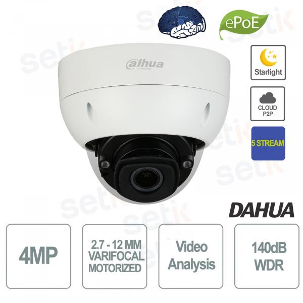 Starlight 5 Stream Motorized AI 4MP PoE IP Camera - Dahua