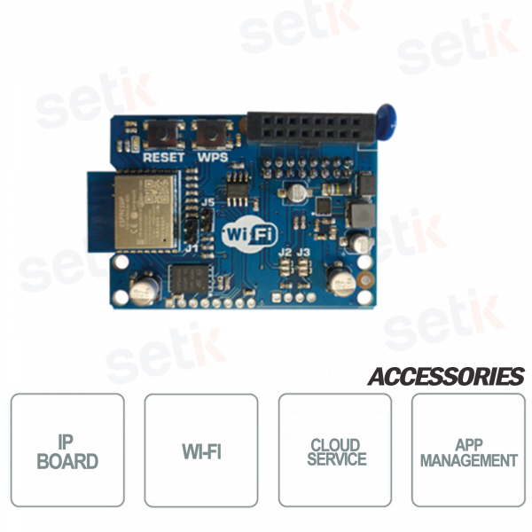 WIFI IP card for XV-XR800V - AMC series control panels