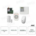 Kit with 1 Control unit XR800V + IF800 + CM800 + TR800-WG + XGPRS - AMC
