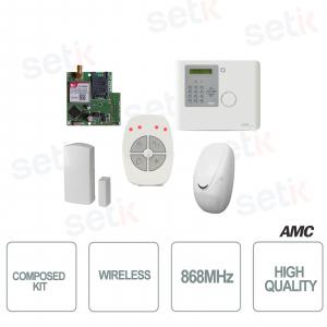 Kit con 1 Centrale XR800V + IF800 + CM800 + TR800-WG + XGPRS - AMC