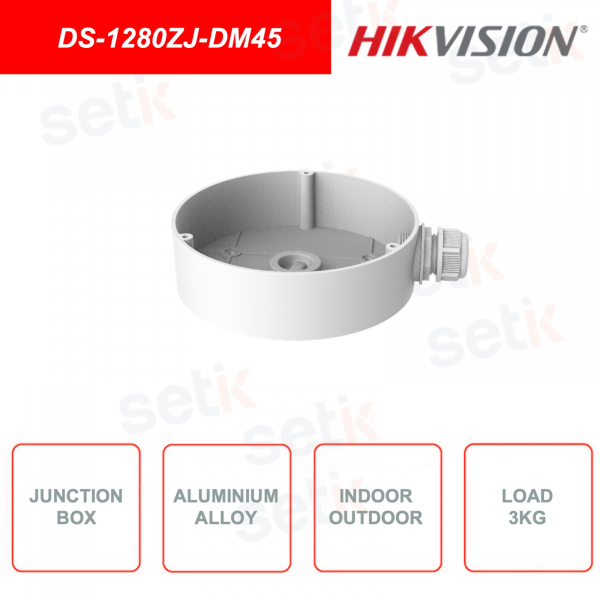 Box di giunzione Hikvision in lega di alluminio
