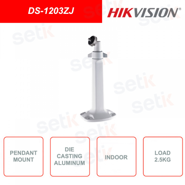 DS-1203ZJ Pendant support for Box, bullet and zoom video surveillance cameras