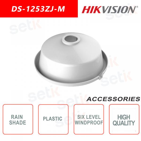 Parapioggia in plastica per telecamere Dome - Hikvsion