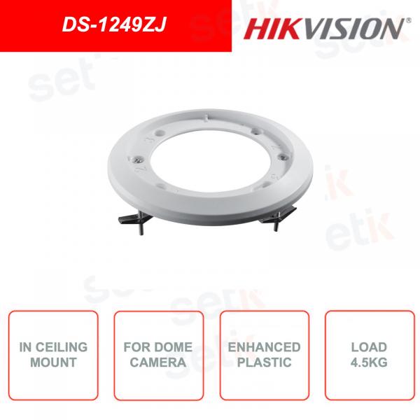Supporto a soffitto HIKVISION DS-1249ZJ per telecamere di videosorveglianza dome
