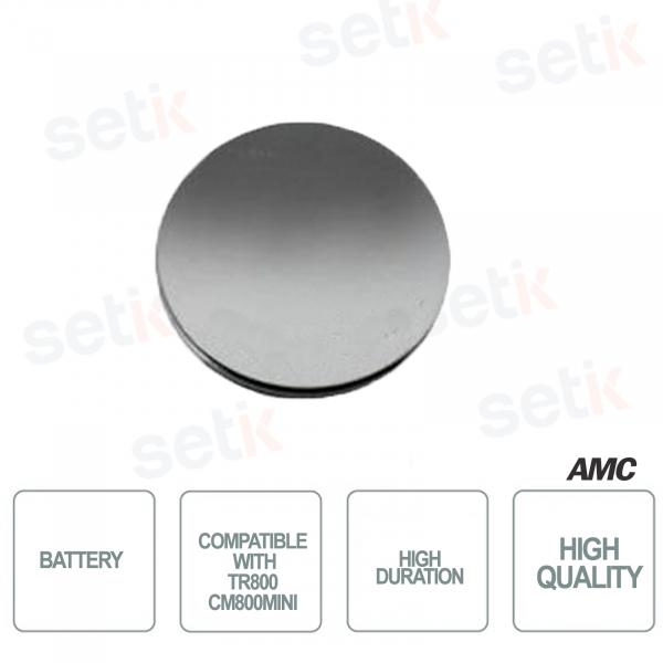 AMC Batteria a litio per TR800 e CM800Mini