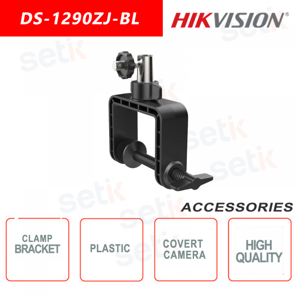 Fixing bracket for hidden cameras made of plastic - Hikvision
