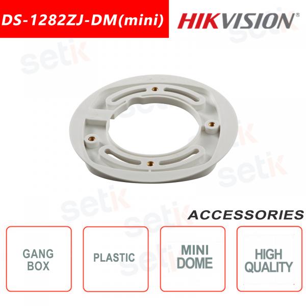 Flush-mounted plastic box for Mini Dome cameras - Hikvision
