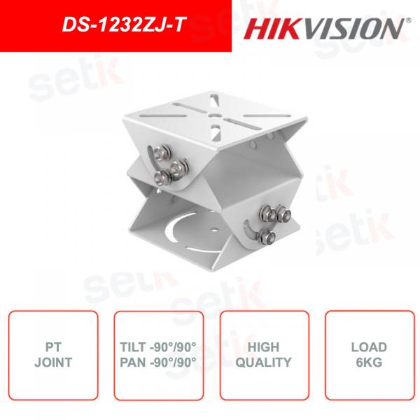 Giunto per regolazione di puntamento Tilt e Pan HIKVISION DS-1232ZJ-T
