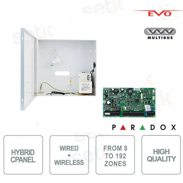 Centrale d'allarme Paradox EVO192 Ibrida 8 Zone Espandibile 192