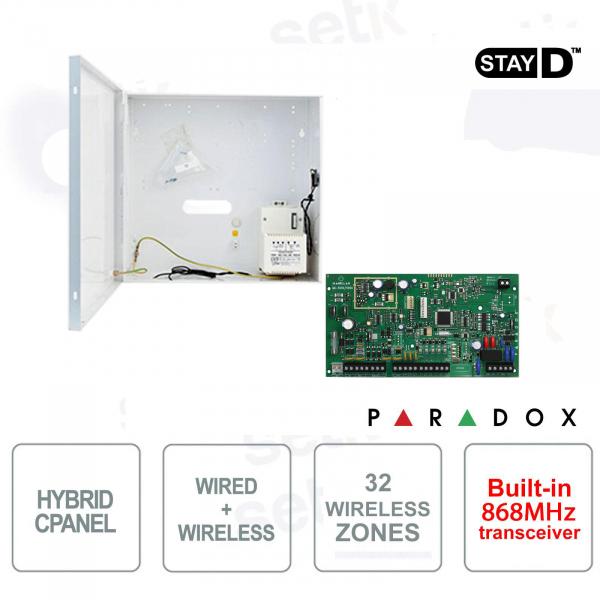 Magellan Centrale Allarme Paradox MG5050/86 Senza Fili 868MHz Ibrida Cablabile