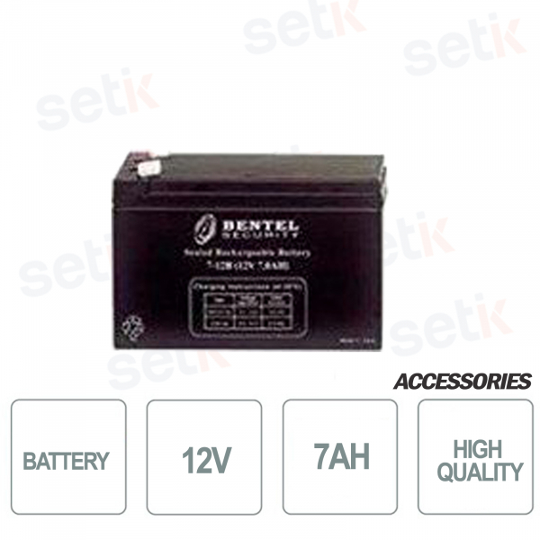 Battery for alarm control units 12V 7AH - Bentel