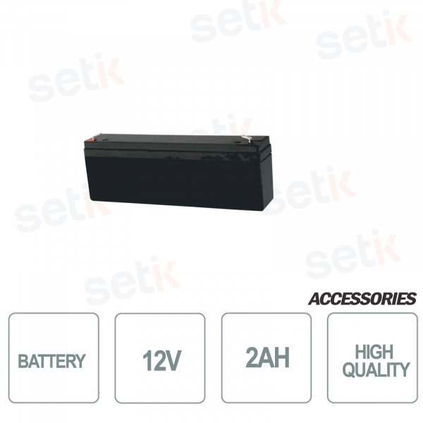 Bentel 12V 2AH battery - Bentel