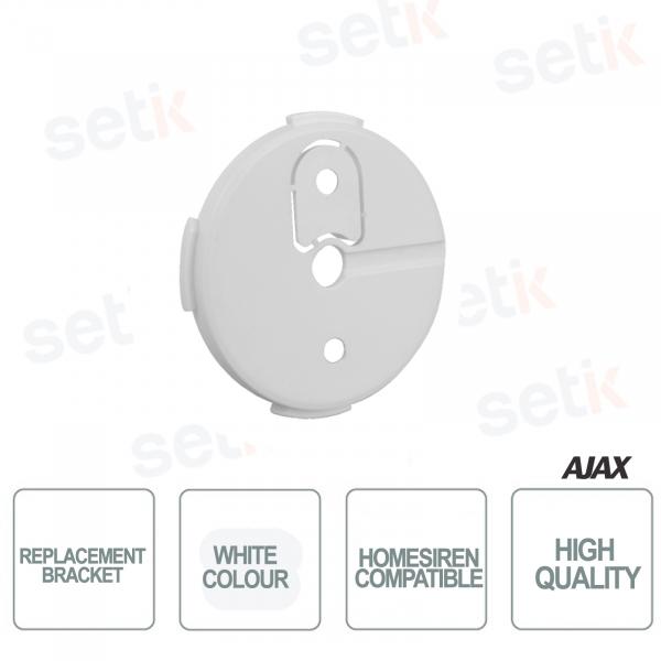 Staffa di ricambio Ajax di colore Bianco per HomeSiren