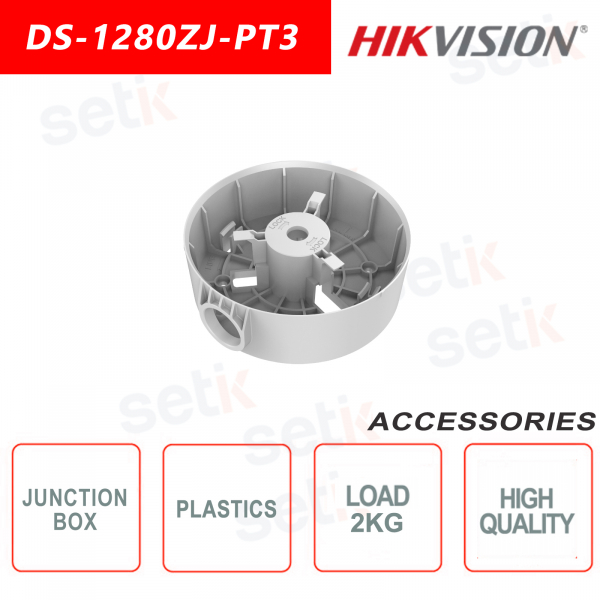 Plastic junction box for Dome cameras - Hikvision