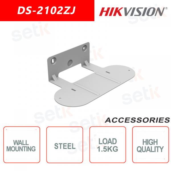 Staffa di montaggio a parete per telecamere in acciao - Hikvision