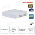 Dahua NVR 8-channel 4K 8MP IP recorder for video surveillance cameras