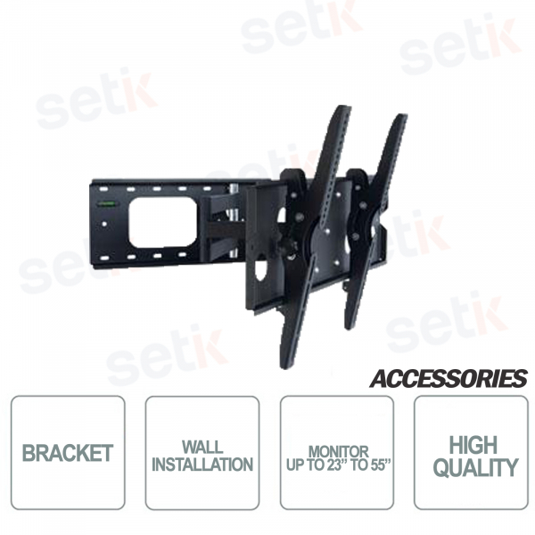 Wall Bracket for Monitors from 23 to 55 inches - Setik