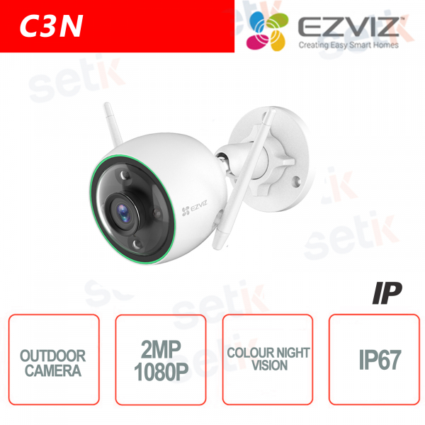 Ezviz Outdoor IP Camera WIFI 2.8mm 2MP Color Night Vision Hikvision