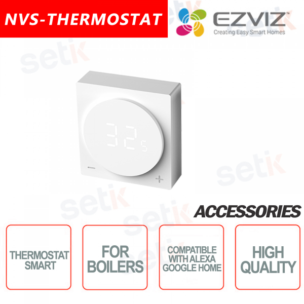 Ezviz Smart thermostat for boilers Compatible with Google Home and Alexa