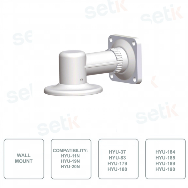 Support HYUNDAI HYU-30 - Vertical wall mounting - For video surveillance systems