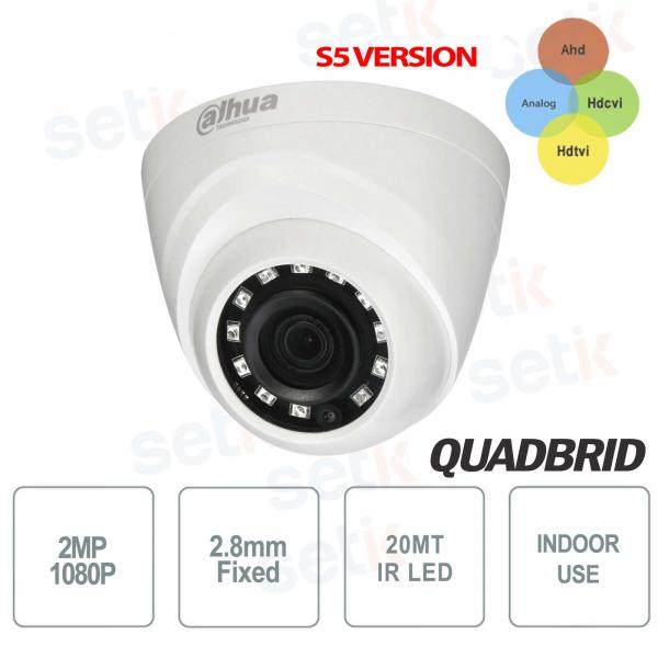 HD CVI 4 in1 2MP 2.8mm IR indoor camera S5 - Dahua