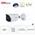 AI IP camera ONVIF PoE 8MP 3.6mm Starlight Dahua