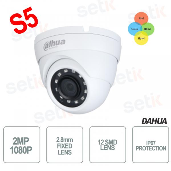 4in1 Dome Eyeball 1080P 2MP SMD Cameras - Lite Dahua