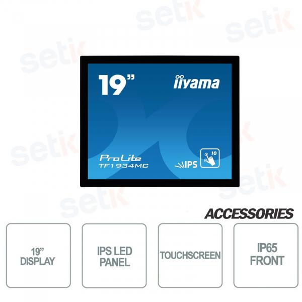Monitor touchscreen IIYAMA ProLite 19'' IPS LCD Panel