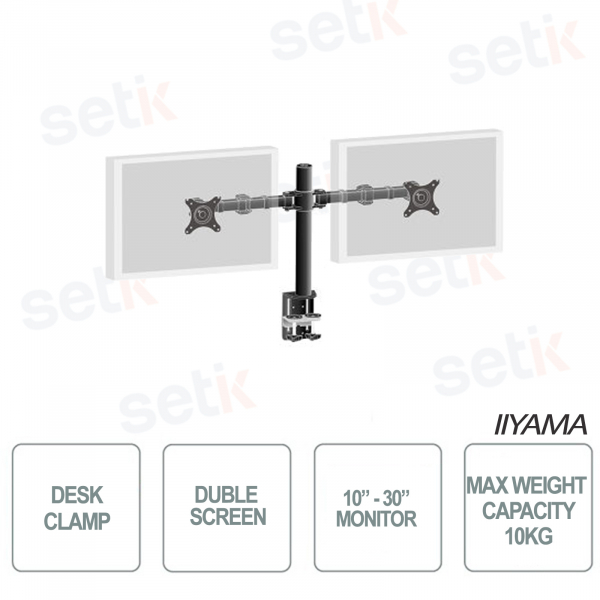 IIYAMA Double Bracket with desktop attachment for monitors up to 30 inches