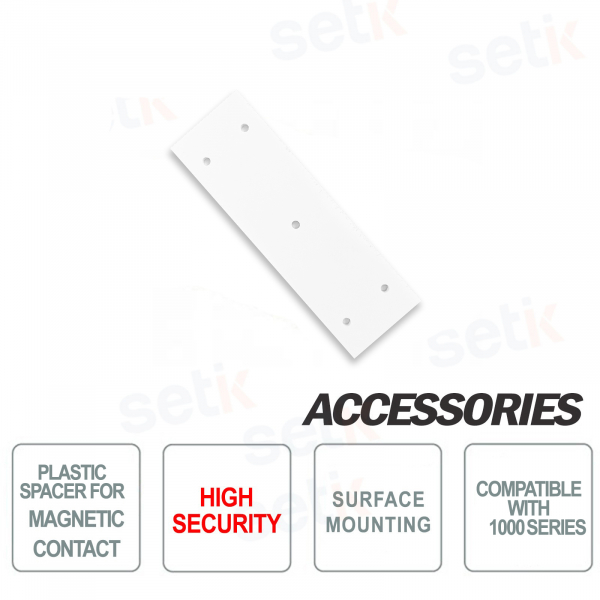 Plastic spacer for magnetic contact for 1000 series, high security IP65 - CSA