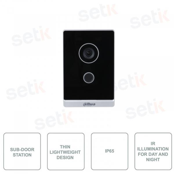 VTO1201G-P - Sottostazione Videocitofonica per uso esterno - 2MP - Audio Bidirezionale - IP65 PoE