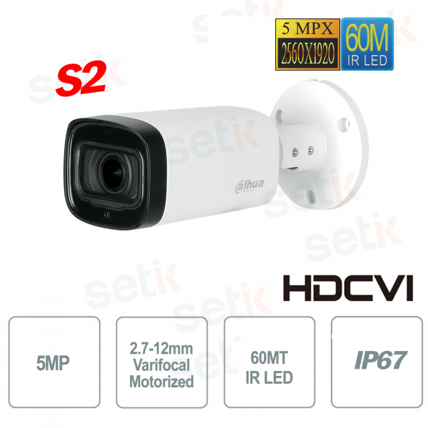 HD CVI 5MP IR 60MT outdoor camera S2 Dahua version