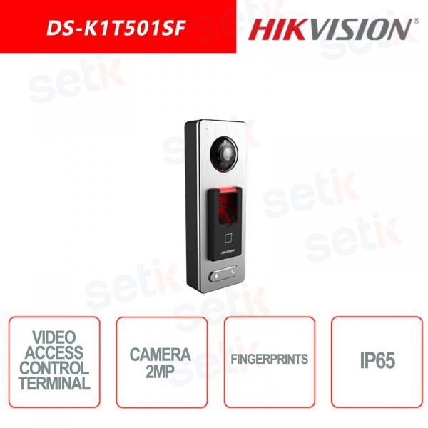 Terminale di controllo accessi Hikvision