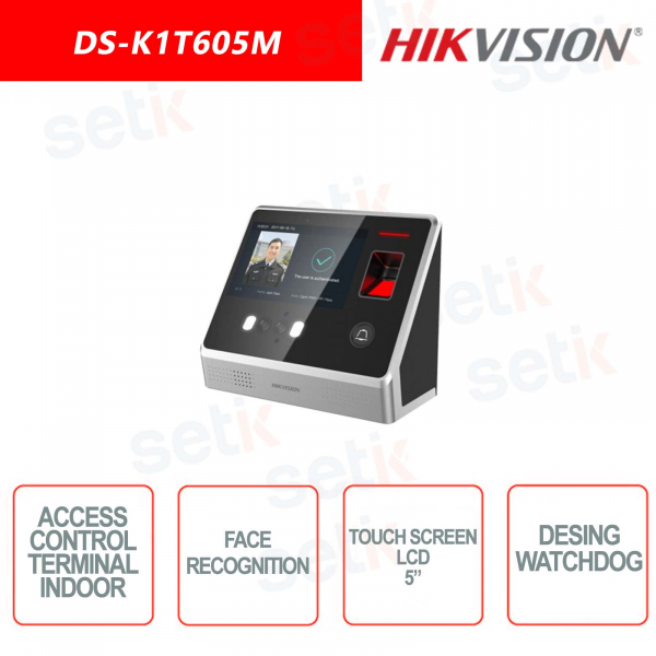 Internal control station Hikvision - 5 Inch LCD